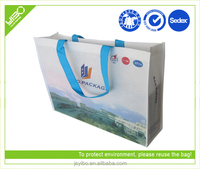 environmental and cheap advertising promotional shopping bag