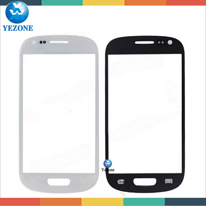 Original Front Glass Panel For Samsung Galaxy S3 mini i8190, Replacement Lens Front Glass For Samsung Galaxy S3 mini