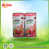 Natural healthy 100% pure cherry flavor avocado juice