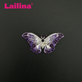 Alloy Muticolor Rhinestones Elegant Becautiful Aminal Butterfly Brooch For men and Women