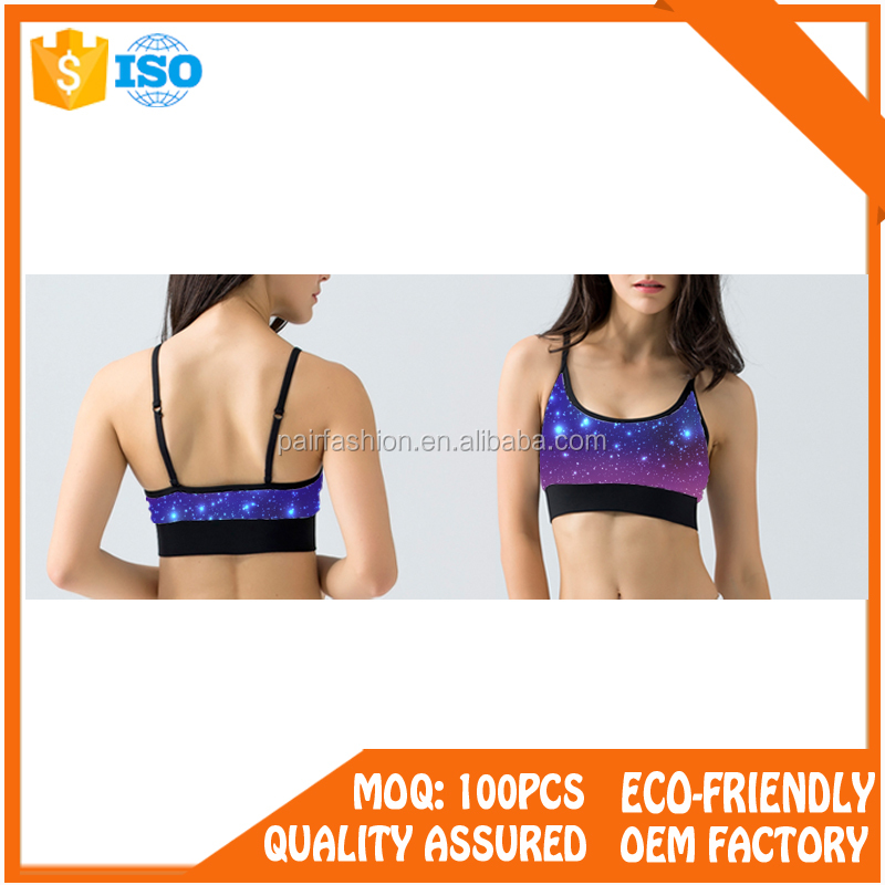 Oem hot sex ladies seamless tube sport yoga bra, Sports Bra Logo China