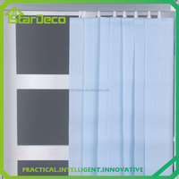 D-W0004 various kinds vertical blind fabric rolls