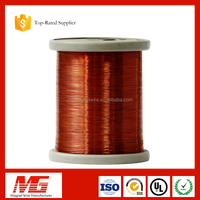 Cost price UL certificate class 200 1mm polyester overcoated enameled copper wire price