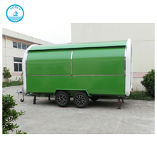Beautiful Design 2017 Shanghai Trailer Big Mobile Small Refrigerated Burger Stall Food Trucks