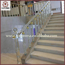 Fancy Crystal Decoration Stair Acrylic Staircase