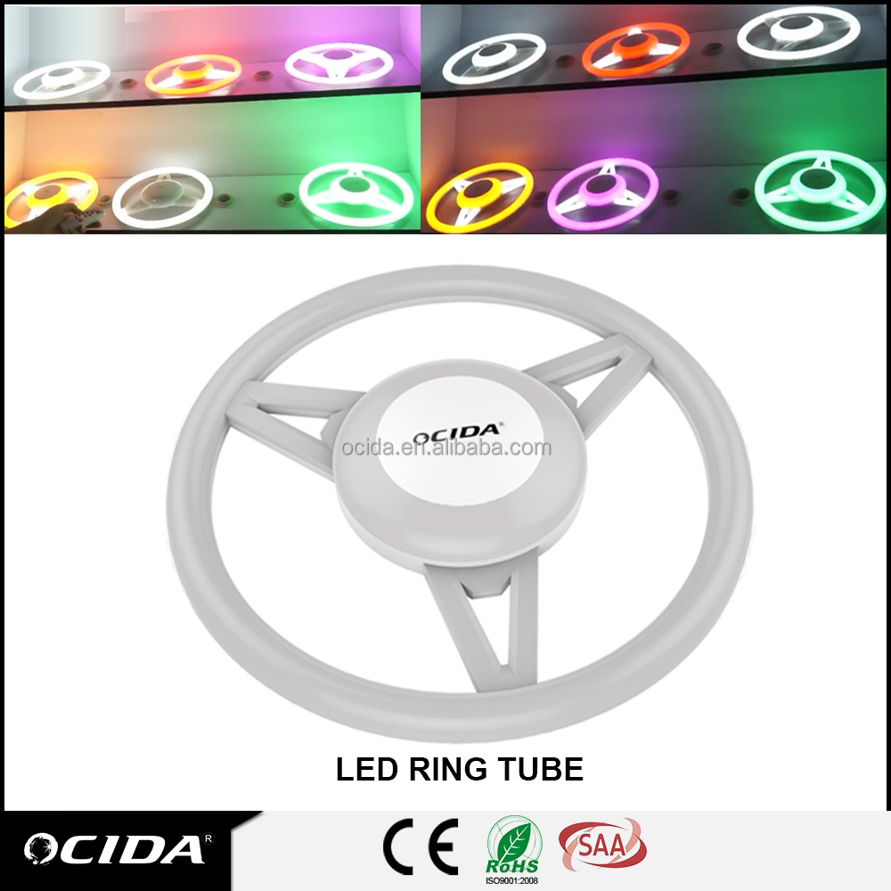 Multifunction pendant light circular ring, circular led tube light