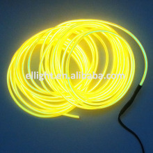 2.3mm Yellow EL Luminescent Wire