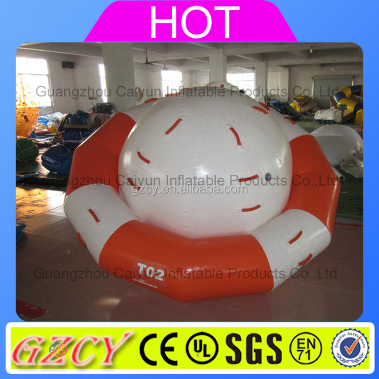 Inflatable rocking saturn,water park toys, inflatable saturn