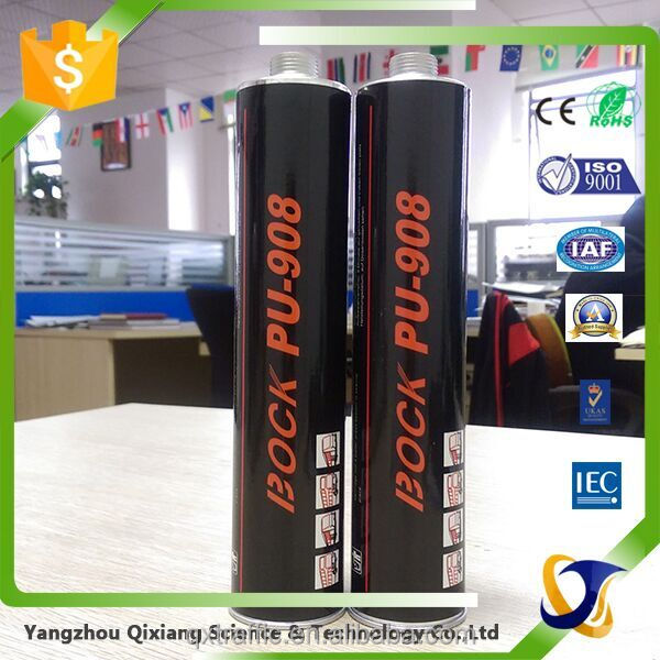 Vehicle Side Glass Joint Bonding Waterproof Polyurethane Glass Silicone Sealant