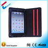2014 hot sell PVC and PU leather trim tablet pc case for Ipad mini case cover