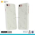 Real natural white marble phone case for iphone 7