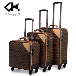 High quality famous designer travel luggage