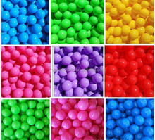 Colorful cheap soft plastic ocean/pit balls for Children playing