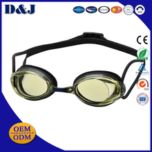 Wholesale Silicone Sport Racing Swimming Goggle for Competition and Training