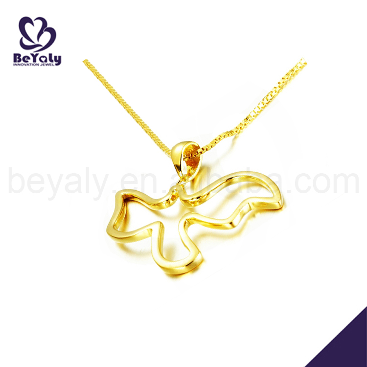 Silver fashion bird symbol nepal gold jewellery