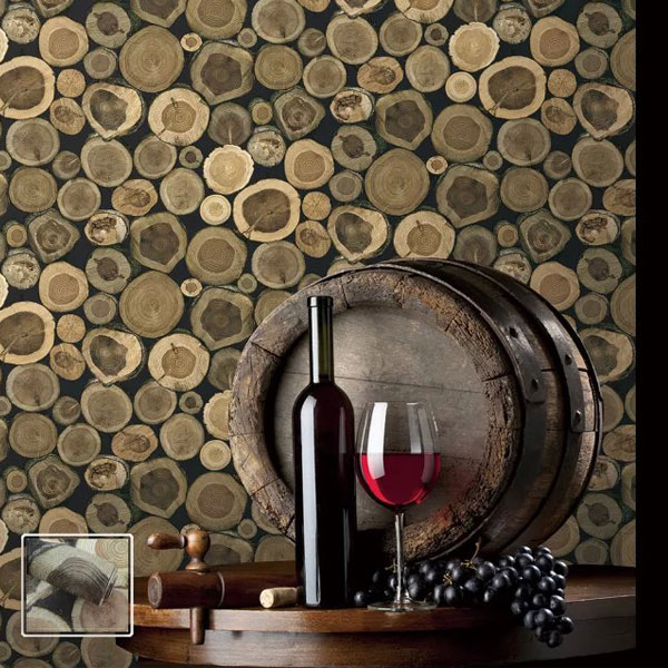 Levinger Simple natural wood wallpaper latest wallpaper designs