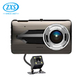 Touch Panel Dual Cam Car Recorder,1080P Vehicle Driving Camera