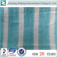 Wholesale china 100% Cotton Yarn Dyed Fabric For Quilt