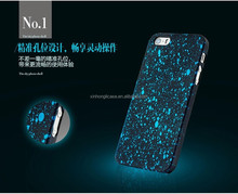 ultra thin matte hard pc case for iphone 5 5s with oil painting twinkle sky case