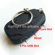 4GB CarKeychains Hidden Cam DVR Micro Camera Portable Car Key