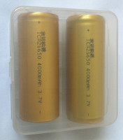 Wholesale Plastic Transparent Box 2* 26650 Battery Storage Case With Long Cycle Life