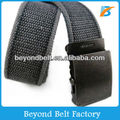 Jeans' Military Webbing Washed Cotton Belt for Men