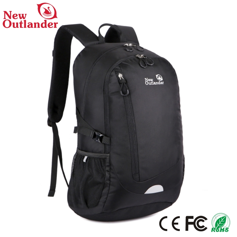 new style nylon polyester backpack , light up backpack ,vertical backpack