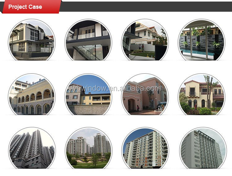 PVC window grills design for sliding windows with 12mm tempered glass