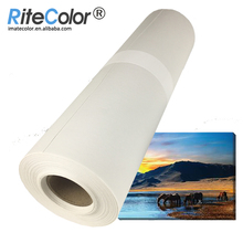 Hot sale 380gsm Poly Cotton Fabric Canvas Roll Inkjet for Eco Solvent Ink