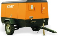 2015 new price for mines using 14.5bar / 8.5m3 diesel powered portable screw air compressor