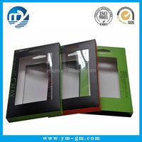 Custom printed paper packaging box for electronics