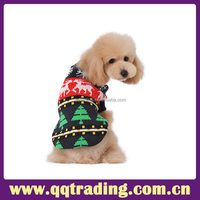 Hot Sell Festival Name Brand Snowflake Christmas 2015 Dog Sweater