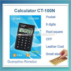 kids stationery items cheapest mini thin calculator solar power desktop calculator