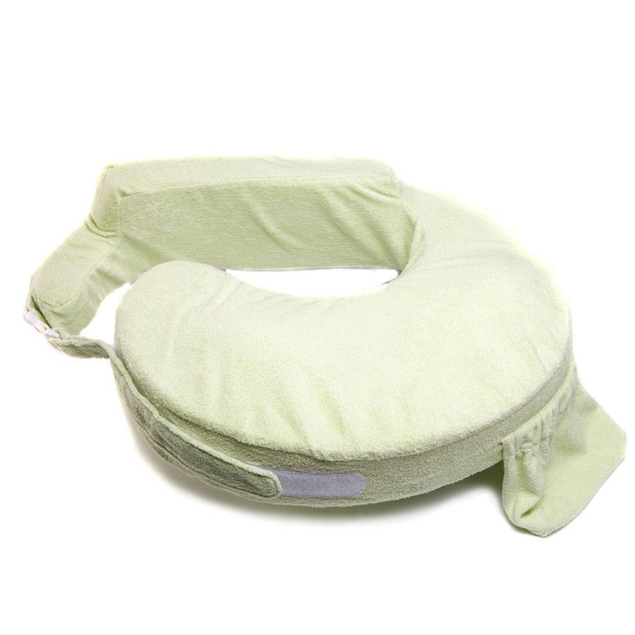 Wholesale Comfortable Breast Shaped Baby Feeding Memory Foam Nursing Pillow