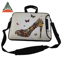 Fashion Women Neoprene Shoulder Messenger Laptop Bag