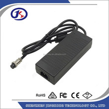 Shenzhen factory 24 Volt 2A 48W Li-ion Battery Charger for Razor Electric Scooter