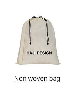 Modern Type Drawstring Cotton Bag