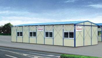 Light steel structure Prefab House for workshop warehouse