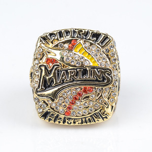 2003 Miami Marlins Champion Ring Fashion Men Sports Accessories Fans Souvenir Ring