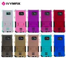 3 in 1 hybrid kickstand protective phone case for Samsung galaxy note 7