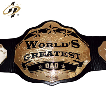 Factory cheap universal boxing metal gold  waist belts