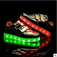 Flashing Shoes Boys Girls Trainer Luminous