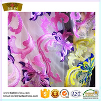 New style voile lace fabric for curtain lining