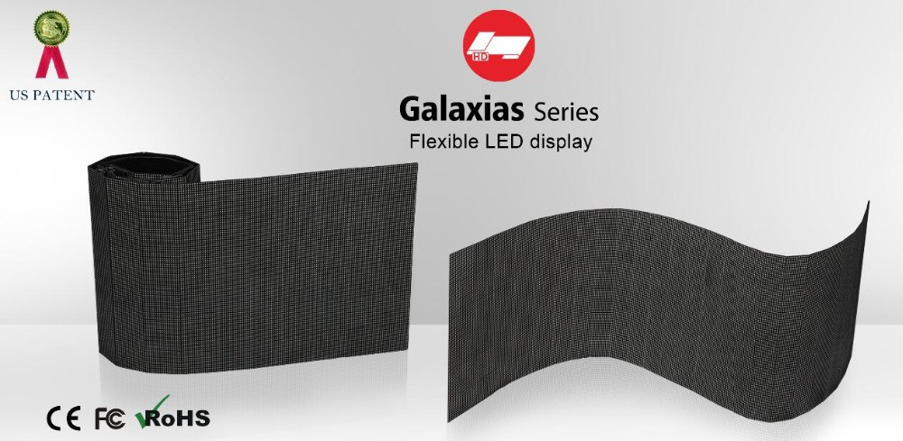 LED Curtain Display Easy Installation, mobile LED Display