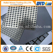 High quality cheap beautiful perforated metal sheet / 2014 hot sale perforated metal sheet (factory)