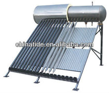 SABS approved heat pipe pressurized solar water heater