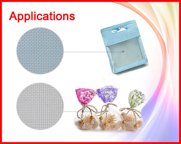 NO MOQ nylon mesh tea bags
