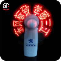 2015 New Products Giveaways For Sport Event Led Clock Fan
