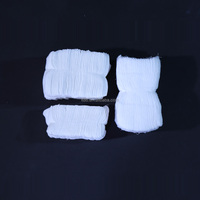 100% Cotton Sterile or non-sterile medical absorbent cotton gauze pieces