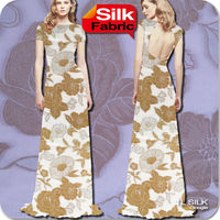Clip Spun Noil Silk Georgette Fabric S78 Stock GGT 1 meter MOQ